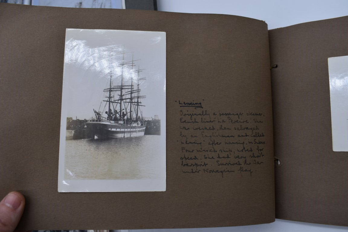 SCILLY ISLES:two early 20thc photographic snapshot albums of the Scilly Isles: together with mid- - Image 18 of 86