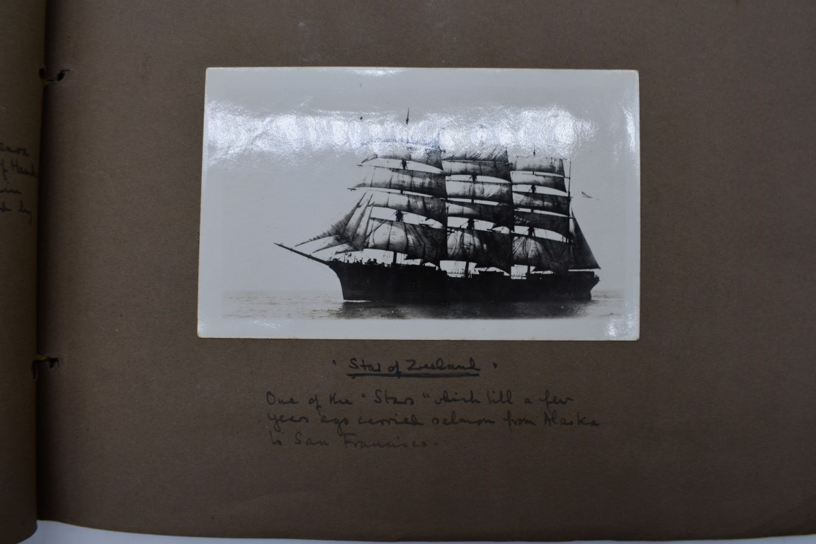 SCILLY ISLES:two early 20thc photographic snapshot albums of the Scilly Isles: together with mid- - Image 29 of 86