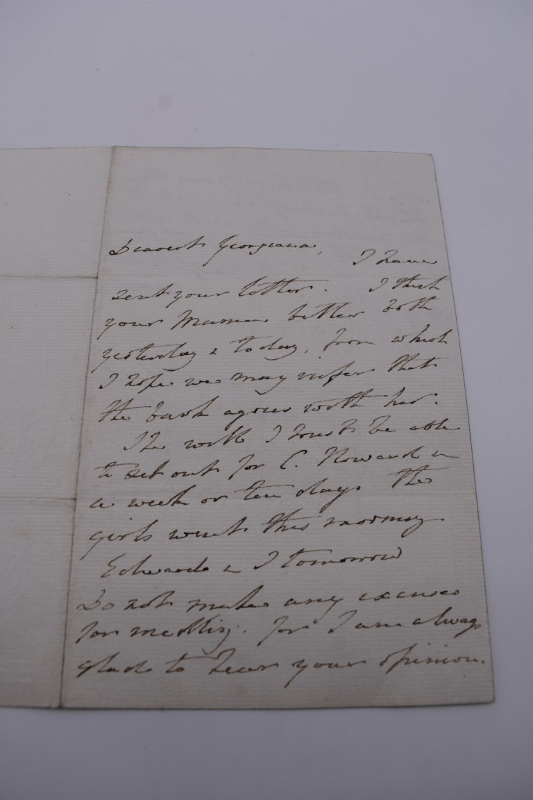 LETTERS, SIGNATURES, MANUSCRIPT MISCELLANY: a collection of over 45 items, largely 19th and early - Image 75 of 83