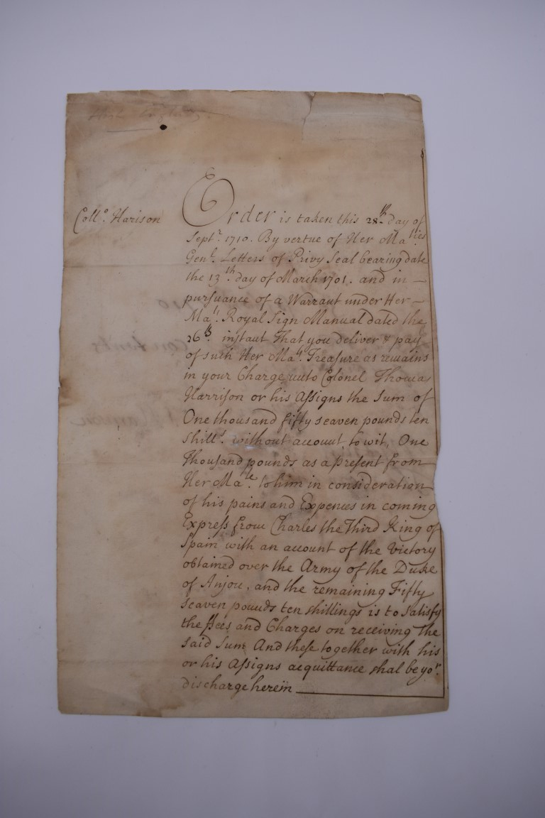 MARITIME ACCOUNTS, MID 18th CENTURY: Dr Samuel Wallis Esq with James Dickson, statement of accounts, - Image 15 of 16