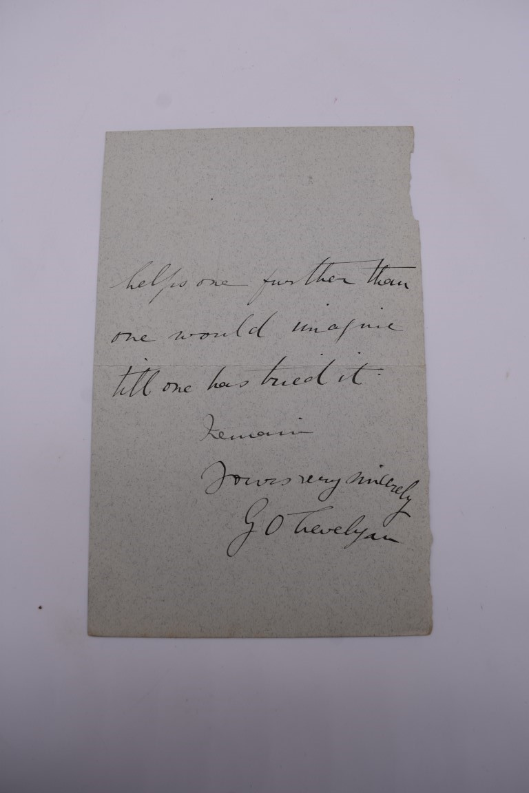 LETTERS:a collection of 20 items, largely letters late 19th-earlier 20thc, to include short one - Image 18 of 26