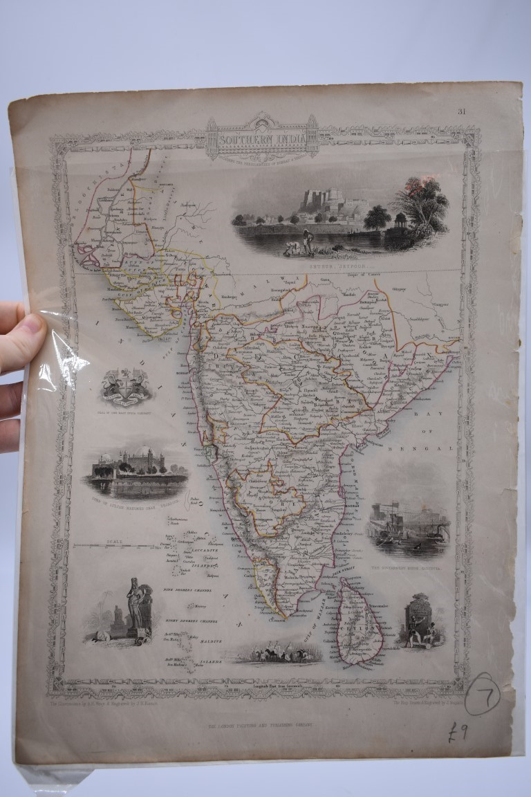 PRINTS, MAPS & ENGRAVINGS:collection of approx 70 prints, maps and engravings, largely 17th-19th - Image 18 of 30