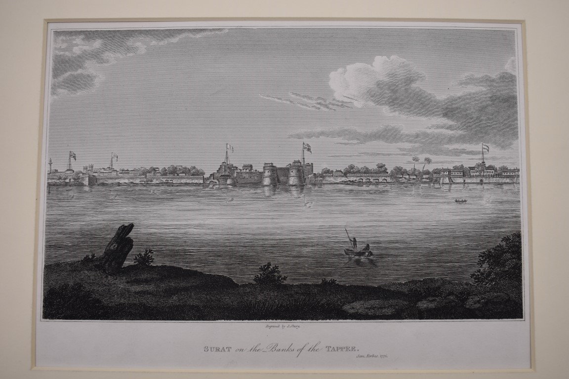 MARITIME PRINTS:collection of approx 61 maritime engravings and etchings, 18th-19th century, - Image 7 of 59
