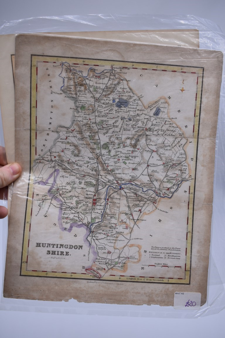 PRINTS, MAPS & ENGRAVINGS:collection of approx 70 prints, maps and engravings, largely 17th-19th - Image 17 of 30