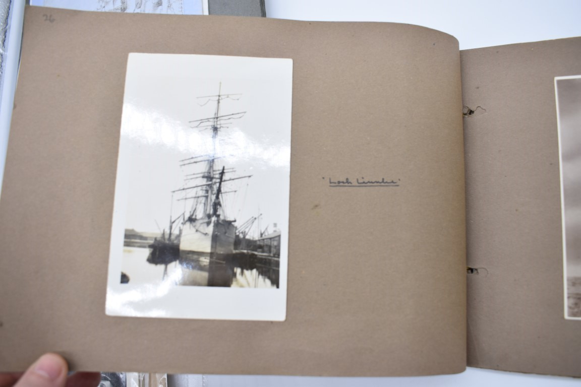 SCILLY ISLES:two early 20thc photographic snapshot albums of the Scilly Isles: together with mid- - Image 24 of 86