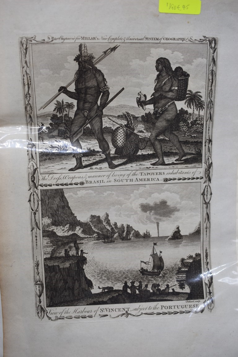 MARITIME PRINTS:collection of approx 61 maritime engravings and etchings, 18th-19th century, - Image 4 of 59