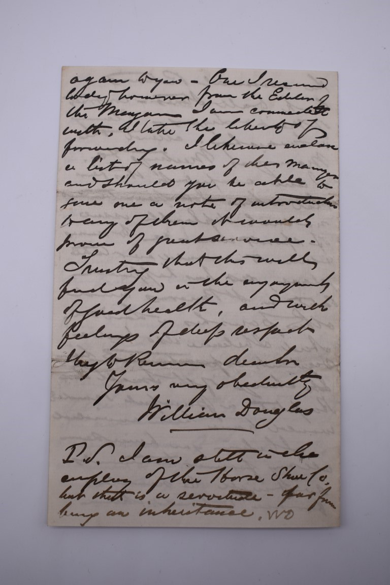 LETTERS & SIGNATURES:a quantity in bundle, largely 19th century nobility and political. (Small - Image 33 of 37