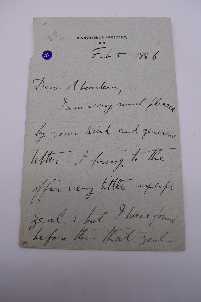 LETTERS:a collection of 20 items, largely letters late 19th-earlier 20thc, to include short one - Image 17 of 26