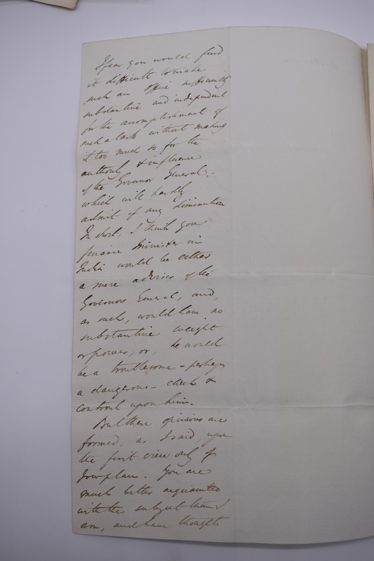 19TH CENTURY LETTERS & DOCUMENTS:two letters entire postmarked Penzance 1840, Buller family, - Image 12 of 23