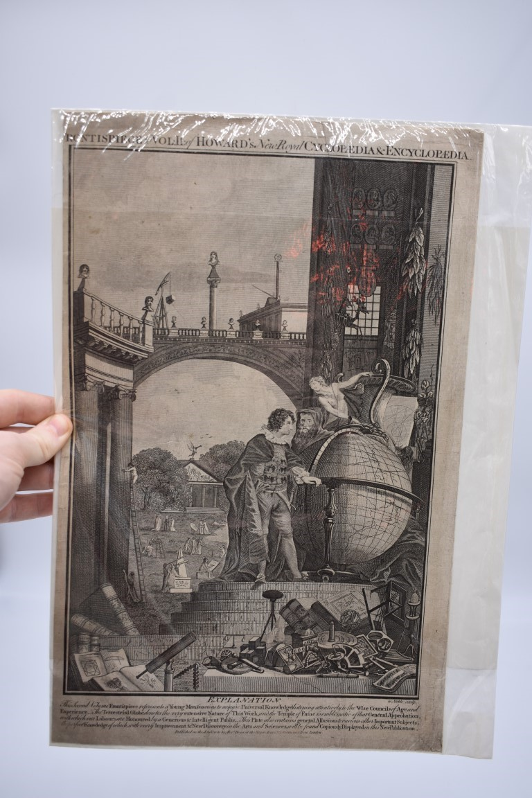 PRINTS, MAPS & ENGRAVINGS:collection of approx 70 prints, maps and engravings, largely 17th-19th - Image 20 of 30