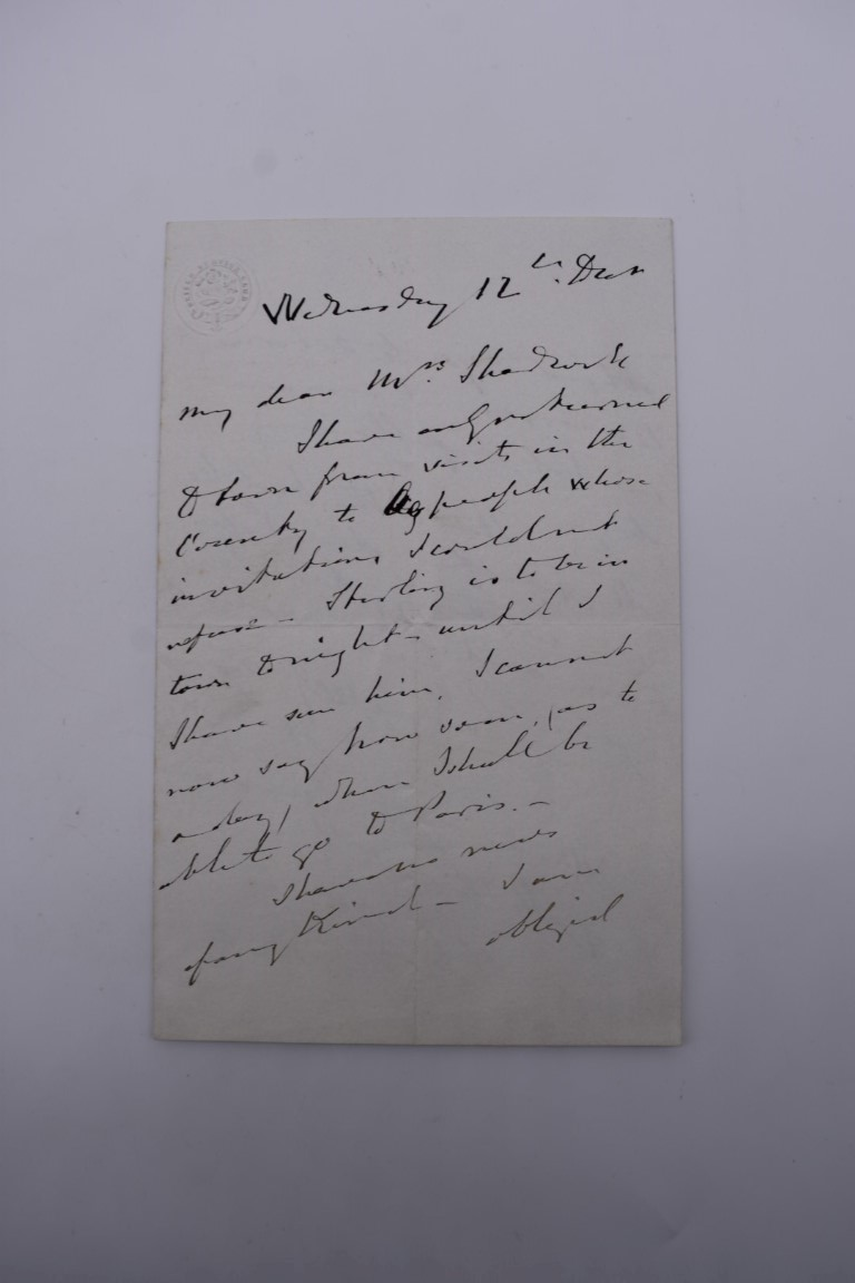 MANUSCRIPT MISCELLANY:collection of ALS and cut signatures, to include 2 side letter from conductor - Image 5 of 36