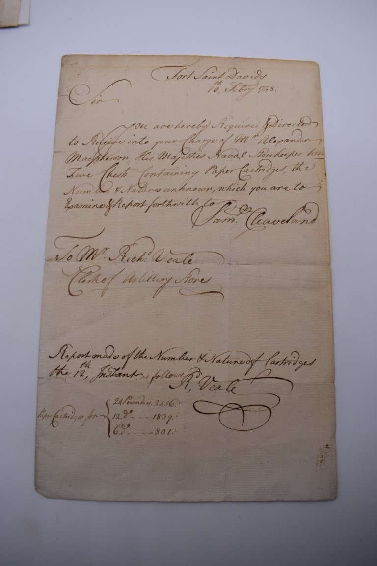 MANUSCRIPT DOCUMENTS, 17TH & 18THC:a group of 6, to include 34 line witness account of an assault - Image 6 of 11