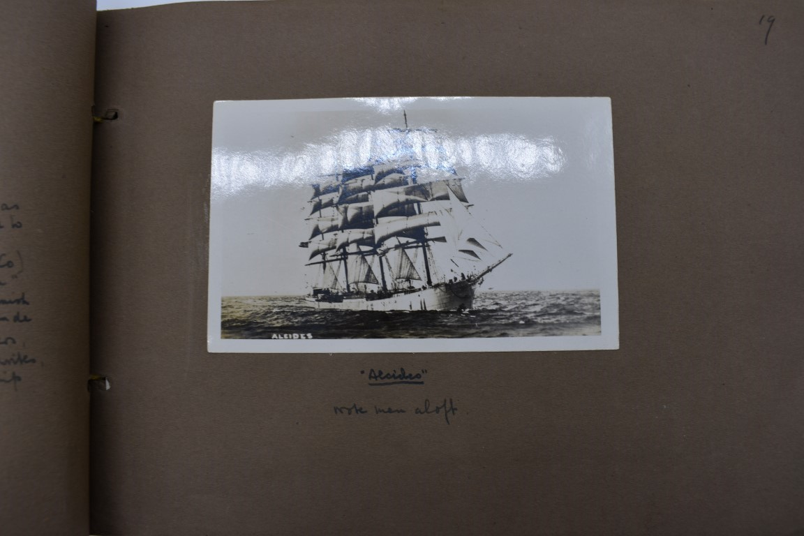 SCILLY ISLES:two early 20thc photographic snapshot albums of the Scilly Isles: together with mid- - Image 17 of 86