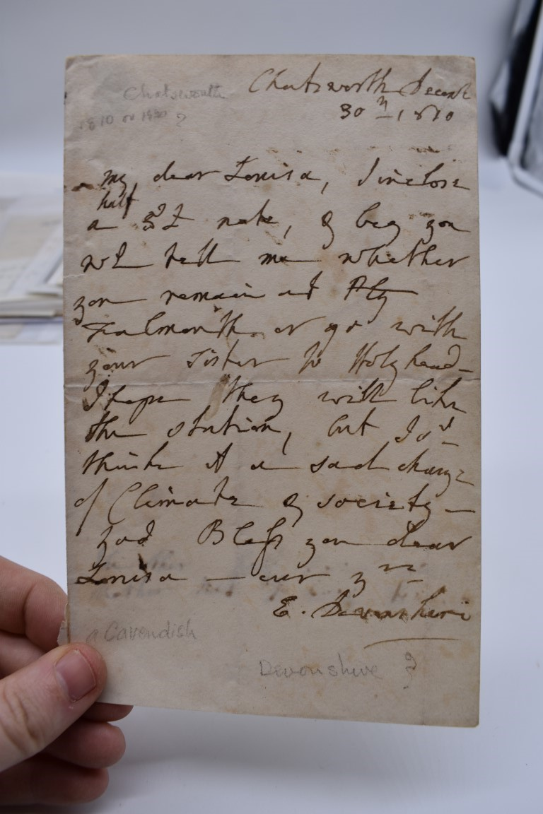 LETTERS AND AUTOGRAPHS, 19THC:collection of approx 33 ALS and cut autographs, largely 19th century - Image 10 of 46