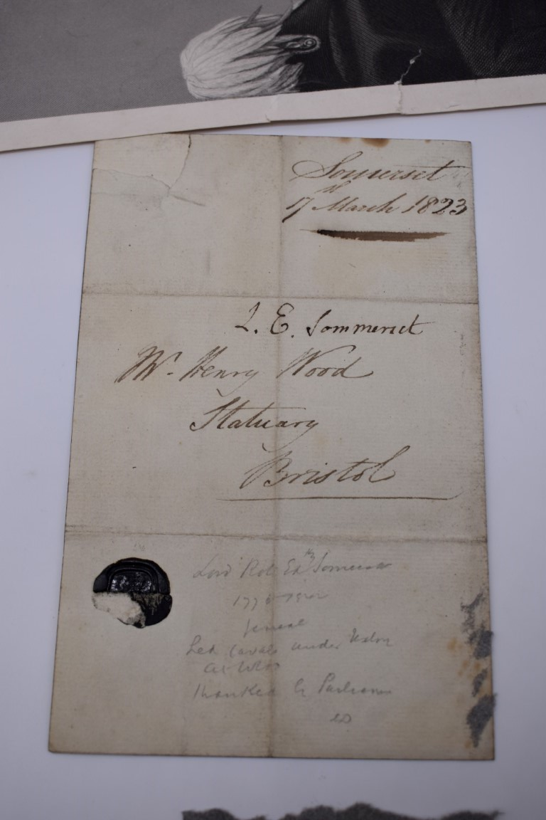 LETTERS AND AUTOGRAPHS, NAVAL AND MILITARY:collection of approx 30 items, late 18th-early 20thc, to - Image 48 of 51