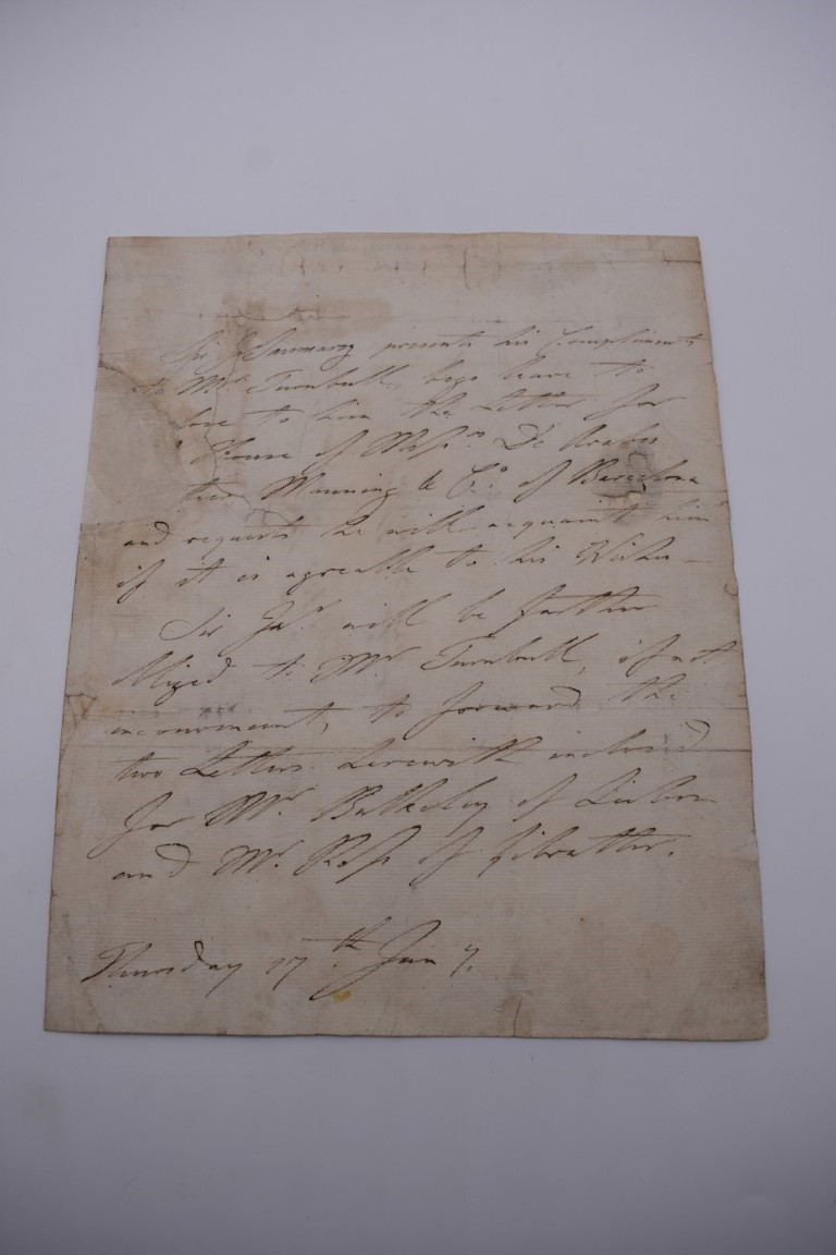 LETTERS, SIGNATURES, MANUSCRIPT MISCELLANY: a collection of over 45 items, largely 19th and early - Image 30 of 83