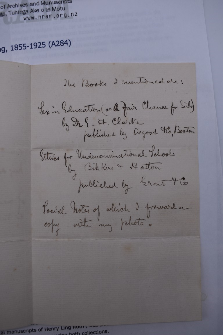 LETTERS:a collection of 20 items, largely letters late 19th-earlier 20thc, to include short one - Image 6 of 26