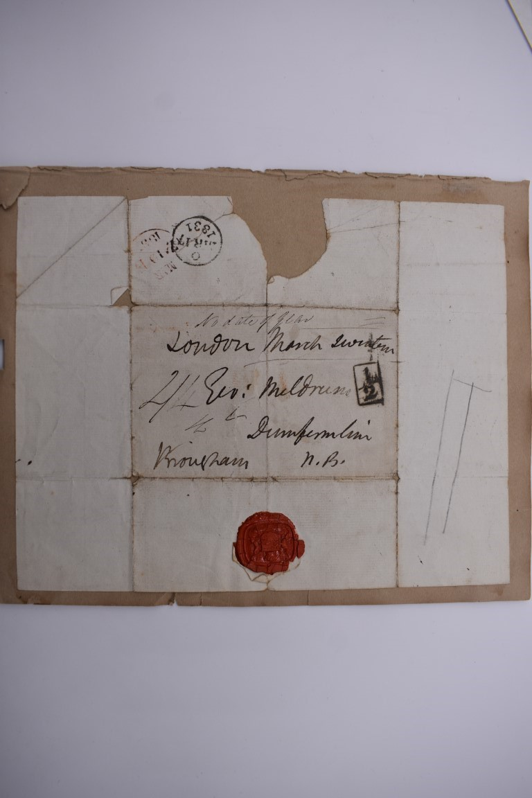 MANUSCRIPT MISCELLANY: a quantity of ALS and cut signatures, largely 19thc politicians, nobility and - Image 21 of 48
