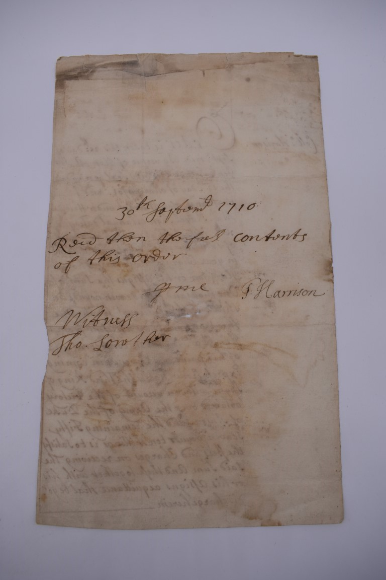MARITIME ACCOUNTS, MID 18th CENTURY: Dr Samuel Wallis Esq with James Dickson, statement of accounts, - Image 16 of 16