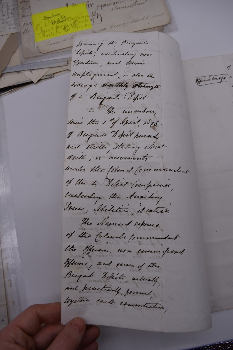 LETTERS, EARLY 19THC: collection of approx 20 ALS, largely early to mid 19thc, a few cropped or cut, - Image 9 of 33