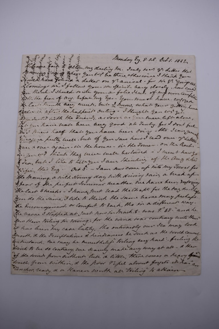 MANUSCRIPT MISCELLANY:collection of ALS and cut signatures, to include 2 side letter from conductor - Image 2 of 36