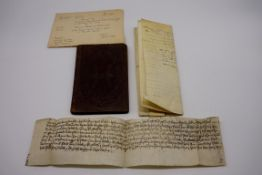 INDENTURES:Deed of Grant, Mill Bank land in Lydd, Kent, Nicholas Sympson to Thomas Bates, 20th