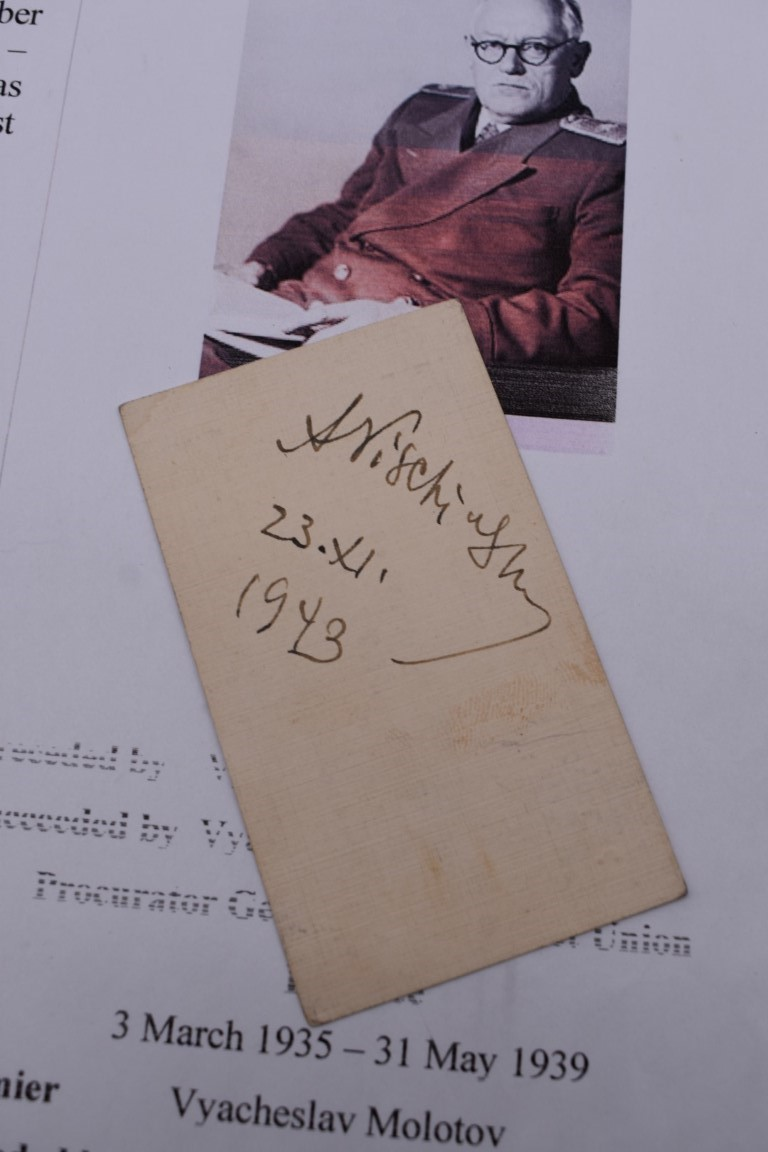 PRINTED AND MANUSCRIPT EPHEMERA:a bundle, to include typescript valuations of pictures in the - Image 14 of 28