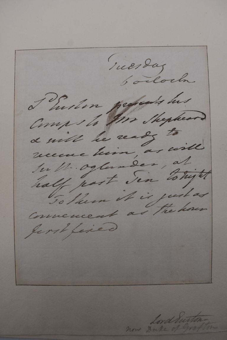 LETTERS, SIGNATURES, MANUSCRIPT MISCELLANY: a collection of over 45 items, largely 19th and early - Image 17 of 83