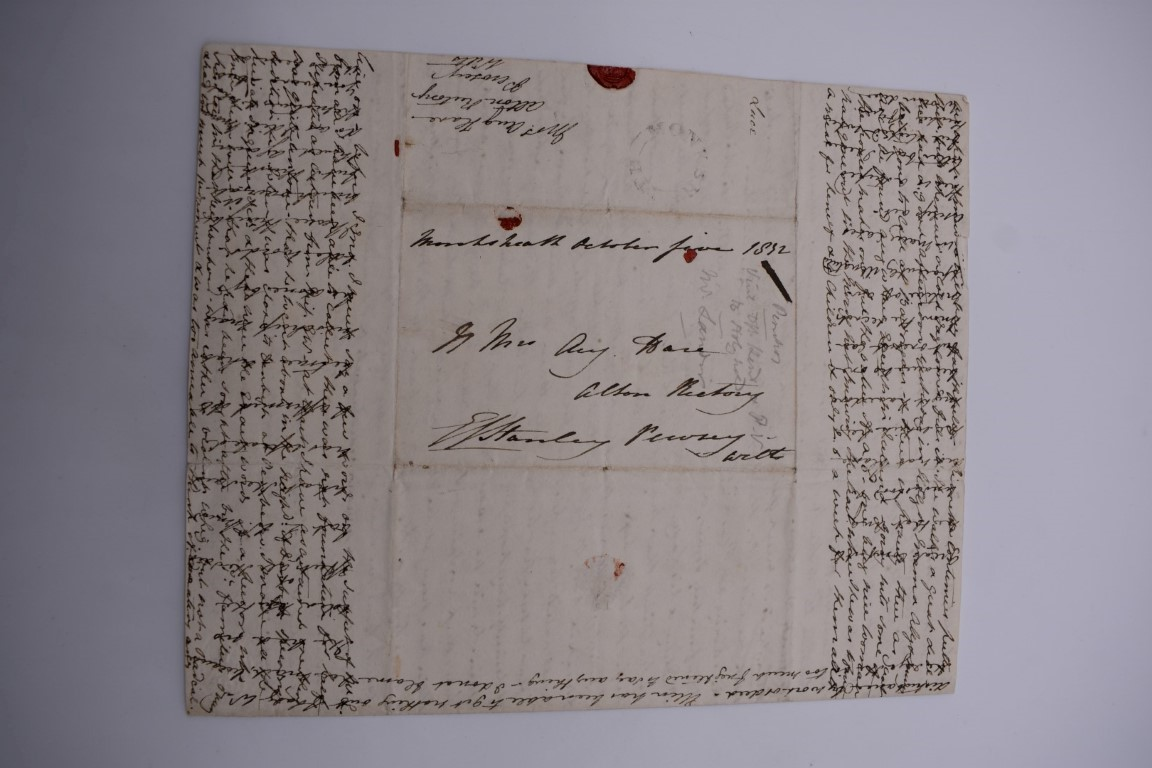 MANUSCRIPT MISCELLANY:collection of ALS and cut signatures, to include 2 side letter from conductor - Image 4 of 36