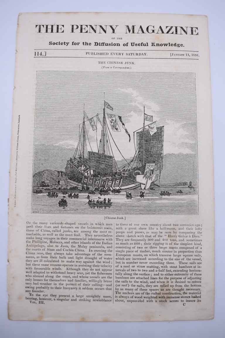 MARITIME PRINTS:collection of approx 61 maritime engravings and etchings, 18th-19th century, - Image 42 of 59