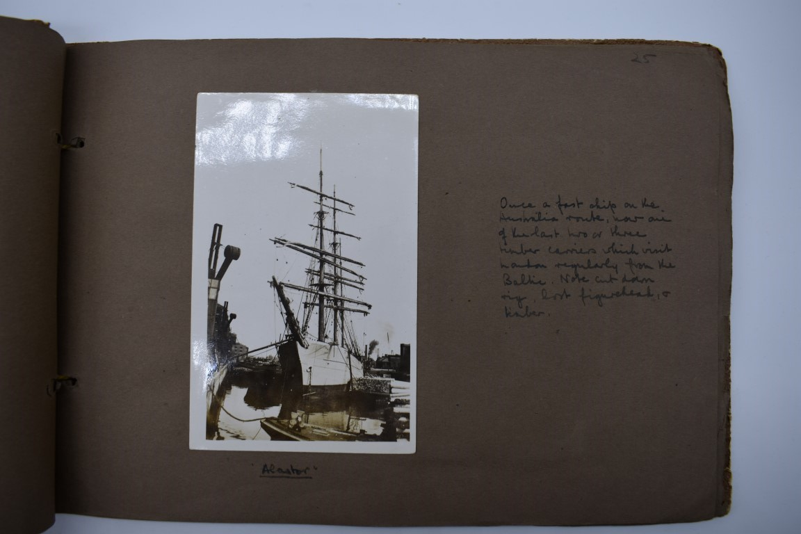 SCILLY ISLES:two early 20thc photographic snapshot albums of the Scilly Isles: together with mid- - Image 23 of 86