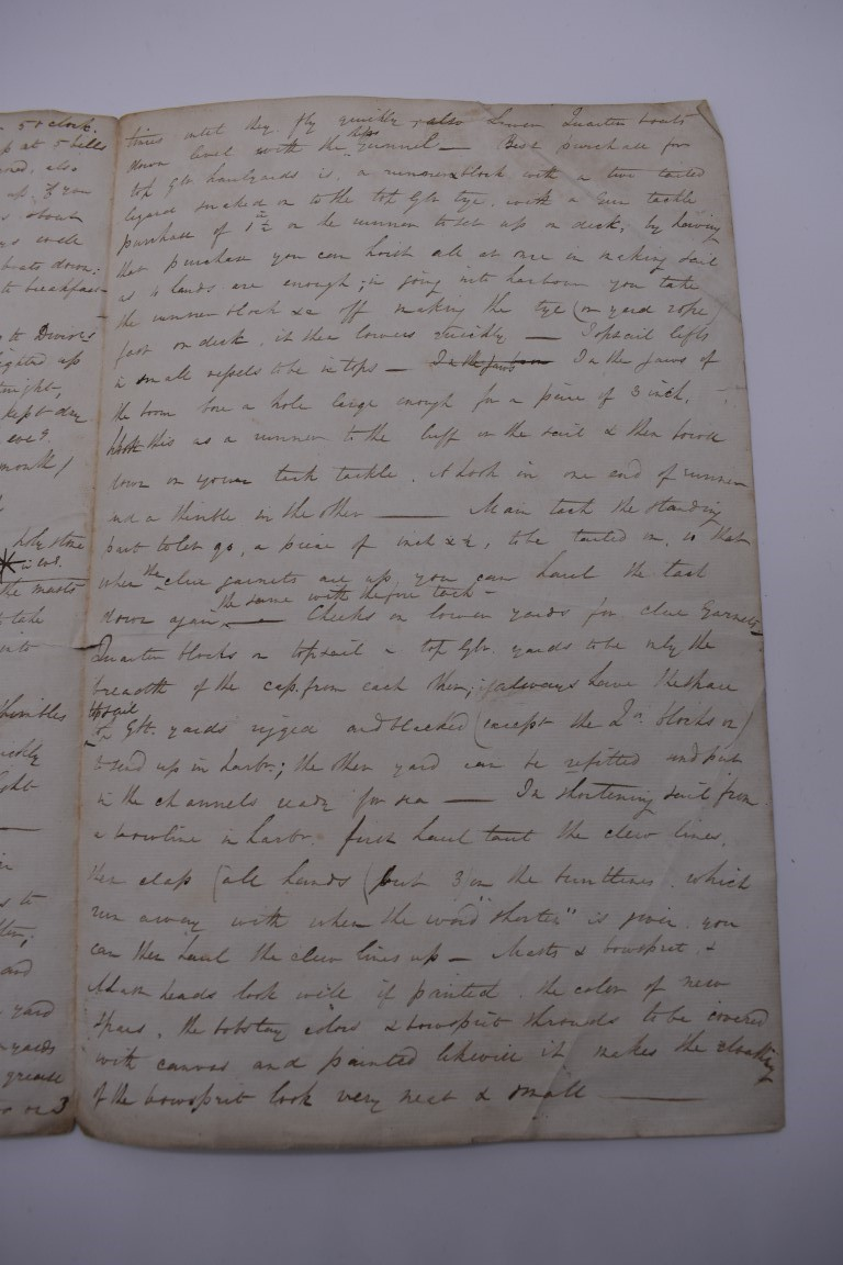 MARITIME ACCOUNTS, MID 18th CENTURY: Dr Samuel Wallis Esq with James Dickson, statement of accounts, - Image 8 of 16