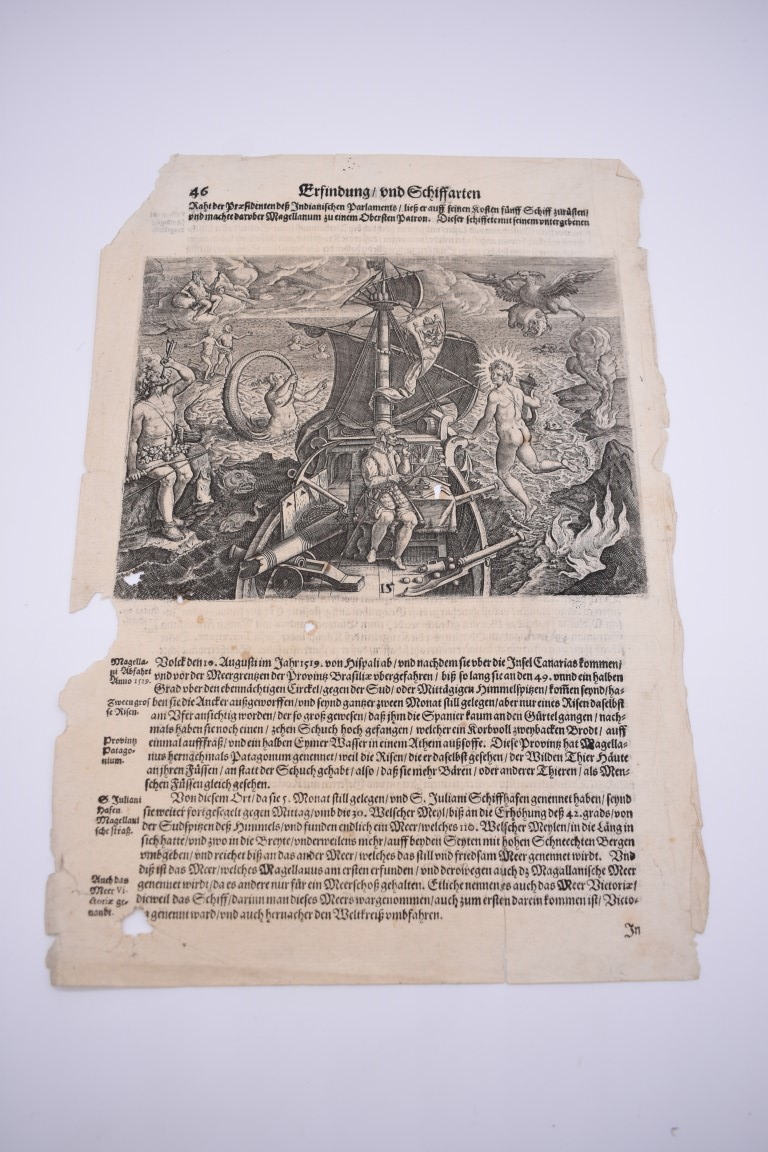 MARITIME PRINTS:collection of approx 20 maritime prints and engravings, largely 17th-18th - Image 14 of 22