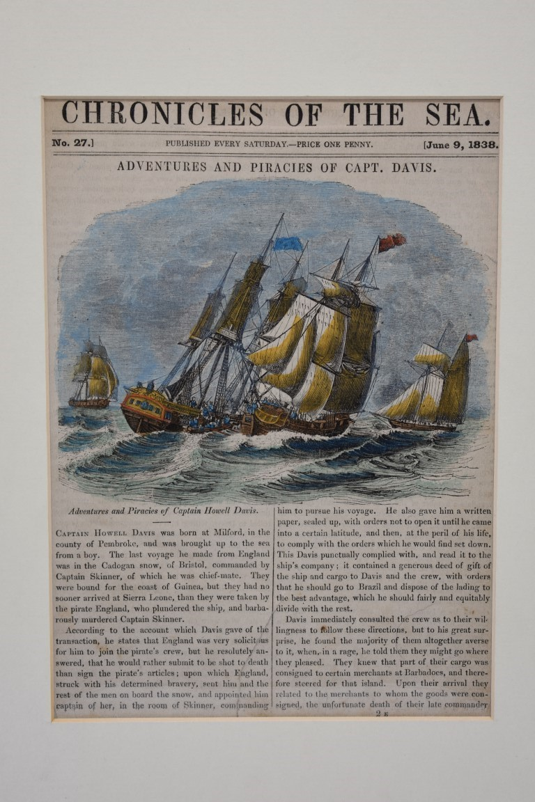 MARITIME PRINTS:collection of approx 61 maritime engravings and etchings, 18th-19th century, - Image 29 of 59