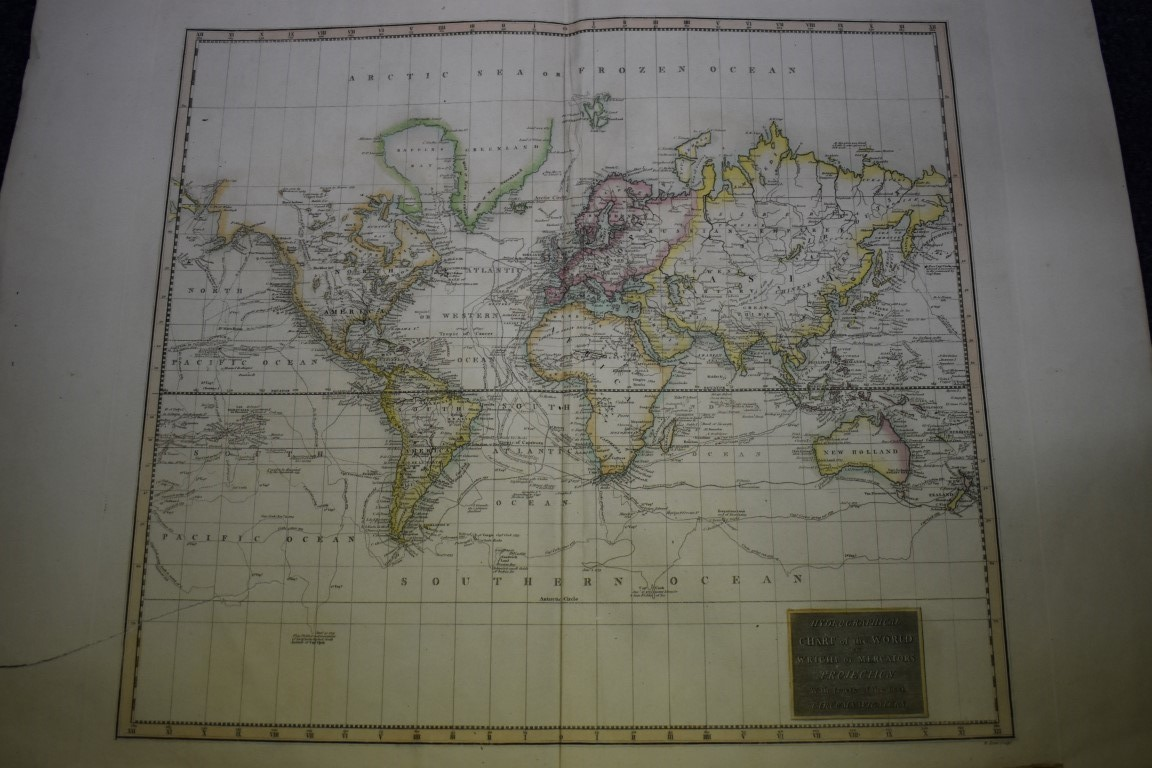 MAPS:collection of 11 miscellaneous maps, 17th-19th century, to include hand-coloured map of - Image 11 of 12