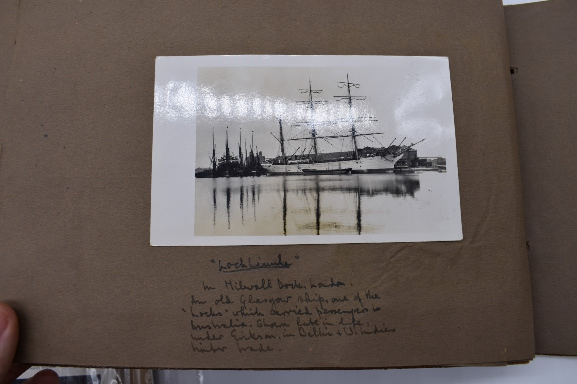 SCILLY ISLES:two early 20thc photographic snapshot albums of the Scilly Isles: together with mid- - Image 12 of 86