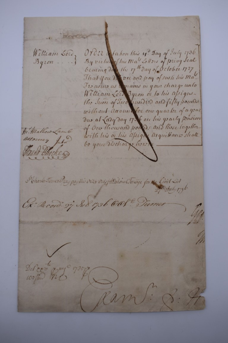 MANUSCRIPTS:collection of approx 15 items, 17th-early 19thc manuscripts, to include 2pp letter - Image 29 of 29