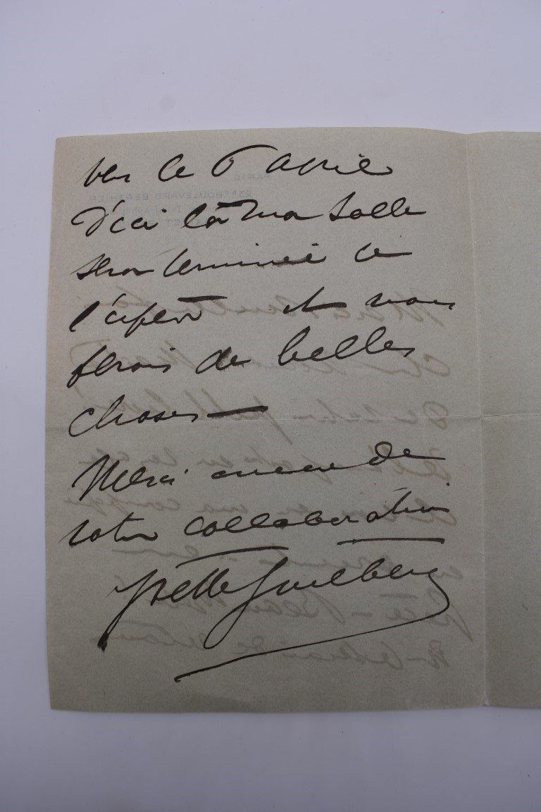 LETTERS & SIGNATURES:a quantity in bundle, largely 19th century nobility and political. (Small - Image 27 of 37