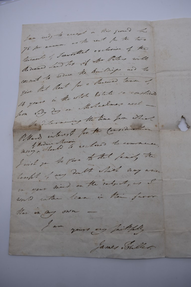 MANUSCRIPTS:collection of approx 15 items, 17th-early 19thc manuscripts, to include 2pp letter - Image 10 of 29