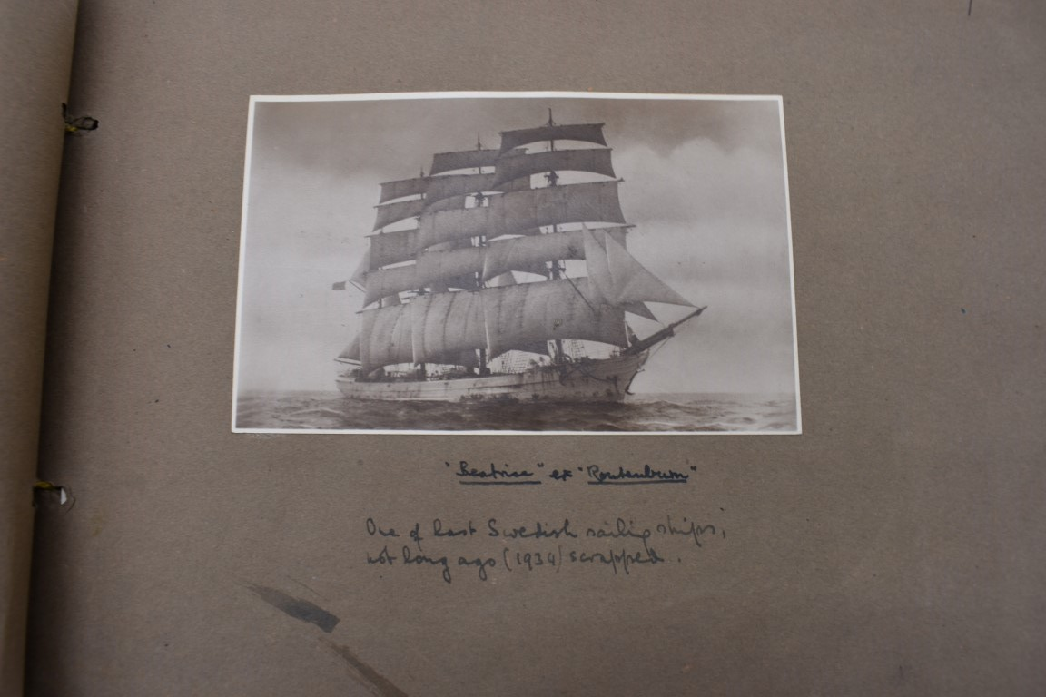 SCILLY ISLES:two early 20thc photographic snapshot albums of the Scilly Isles: together with mid- - Image 15 of 86