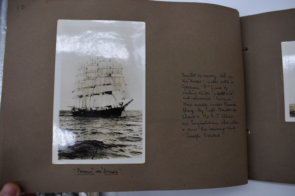 SCILLY ISLES:two early 20thc photographic snapshot albums of the Scilly Isles: together with mid- - Image 16 of 86
