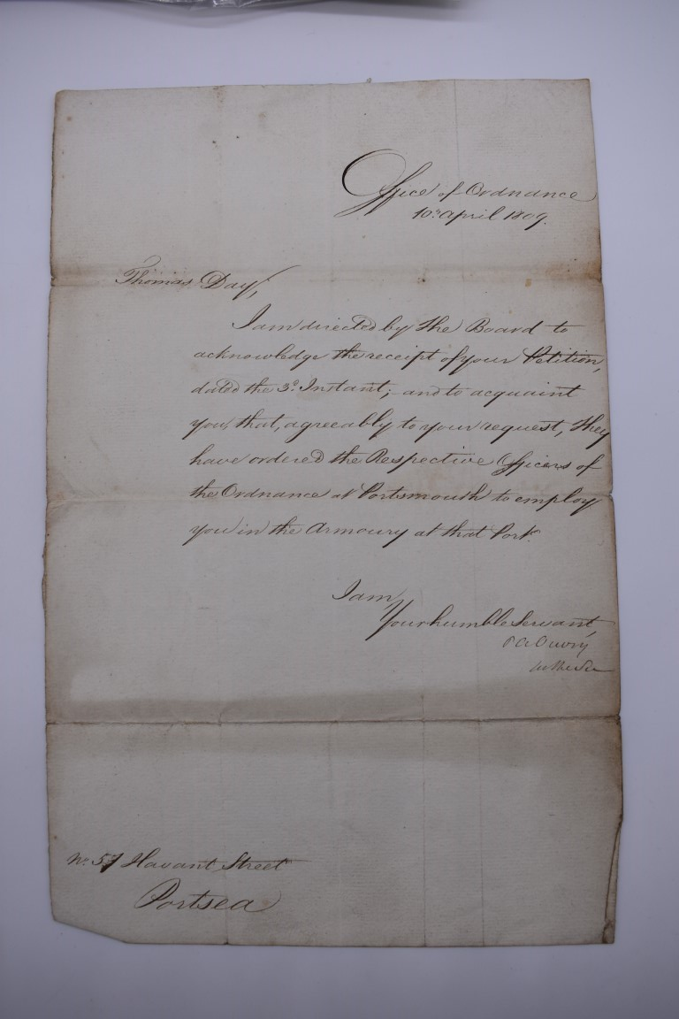 NAVAL AND MILITARY DOCUMENTS:group of 8 manuscript documents, to include printed form with - Image 6 of 21