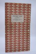 CURWEN PRESS:GREETINGS CARD SAMPLE BOOK: Curwen Cards 1957, sample book containing 8 printed