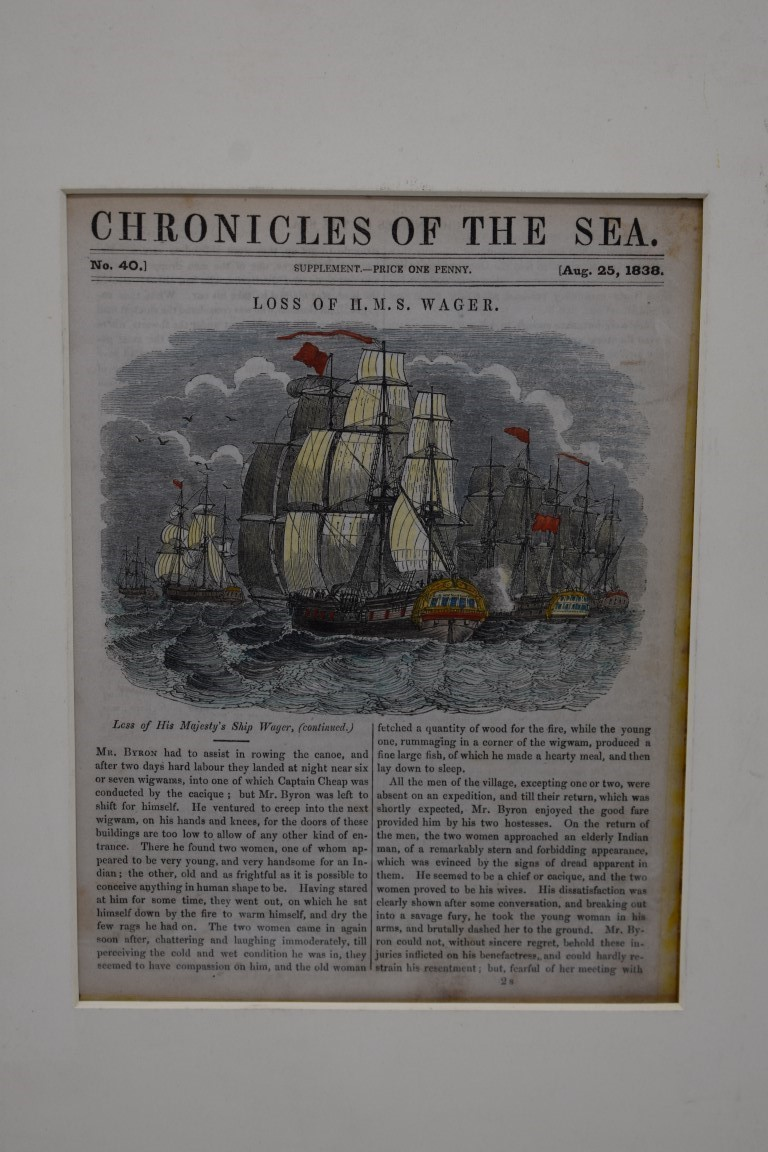 MARITIME PRINTS:collection of approx 61 maritime engravings and etchings, 18th-19th century, - Image 39 of 59