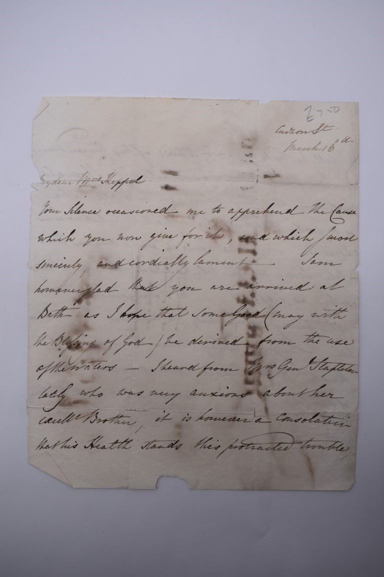 MANUSCRIPT MISCELLANY:collection of ALS and cut signatures, to include 2 side letter from conductor - Image 33 of 36