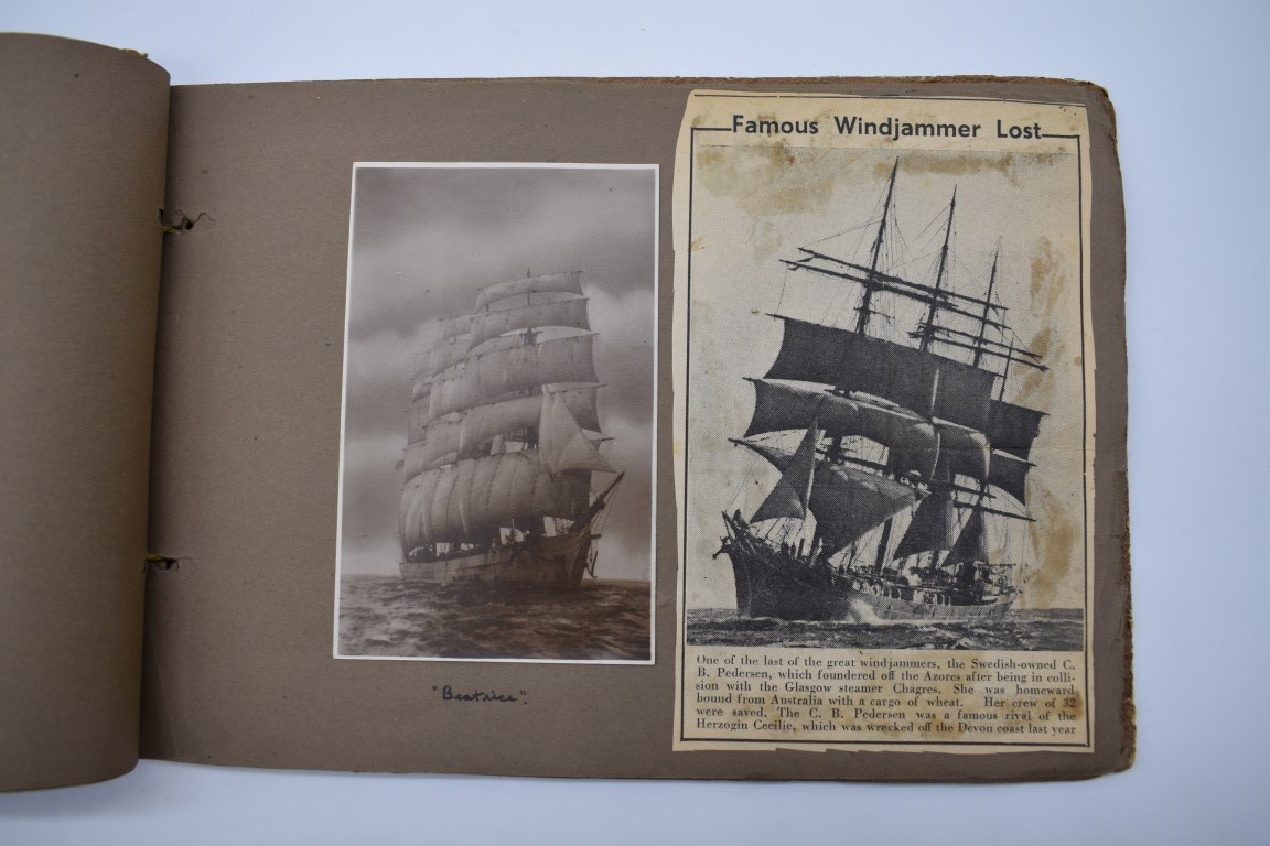 SCILLY ISLES:two early 20thc photographic snapshot albums of the Scilly Isles: together with mid- - Image 25 of 86