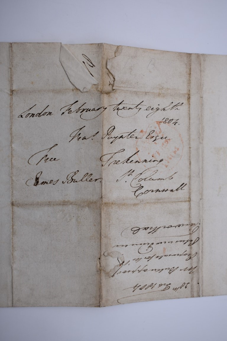 MANUSCRIPTS:collection of approx 15 items, 17th-early 19thc manuscripts, to include 2pp letter - Image 11 of 29