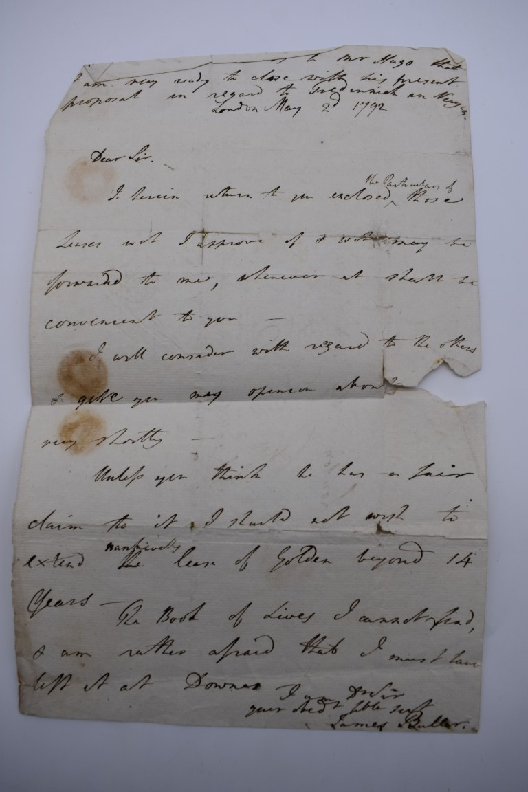 MANUSCRIPTS:collection of approx 15 items, 17th-early 19thc manuscripts, to include 2pp letter - Image 12 of 29