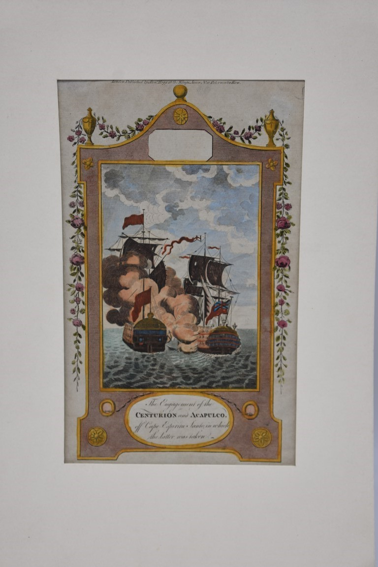 MARITIME PRINTS:collection of approx 20 maritime prints and engravings, largely 17th-18th - Image 17 of 22