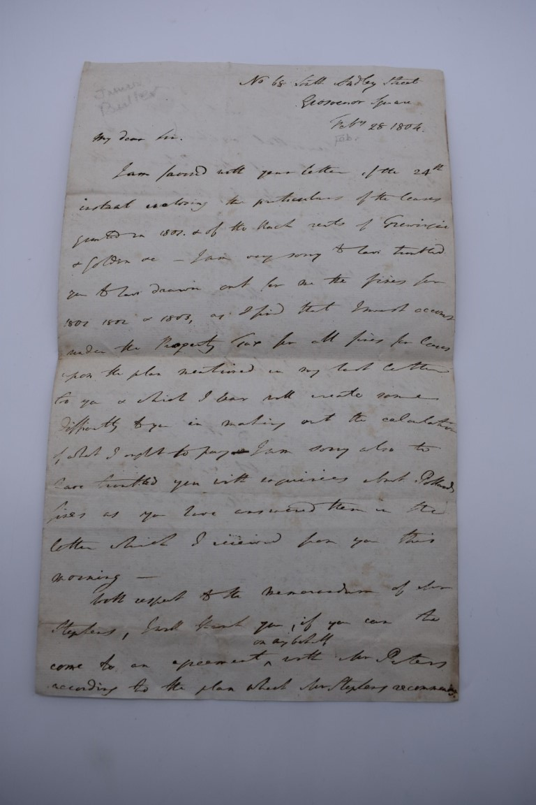 MANUSCRIPTS:collection of approx 15 items, 17th-early 19thc manuscripts, to include 2pp letter - Image 9 of 29